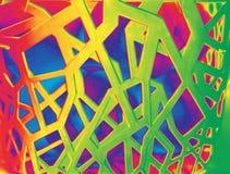 Abstracte Illustratie Abstractie Het Ontwerp van het Web Royalty-vrije Stock Fotografie