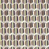 Abstracte illustratie met diamanttextuur, naadloos patroon Stock Afbeeldingen