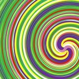 Abstracte illustratie met spiraalvormig motief Abstracte werveling, draai e vector illustratie