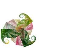 Abstracte illustratie voor ontwerp Stock Afbeelding