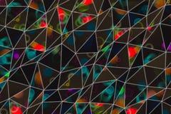 Abstracte illustraties van conceptuele driehoeksstrook, Oppervlakte, behang, generatief & grafisch royalty-vrije stock afbeeldingen