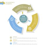 Abstracte Infographics-elementen Royalty-vrije Stock Afbeeldingen