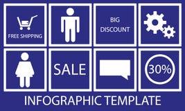 Abstracte informatie grafische achtergrond Royalty-vrije Stock Afbeeldingen
