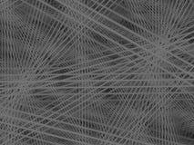 Abstracte interactieve grijze lijnen Stock Foto's
