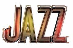 Abstracte jazzachtergrond Stock Foto's