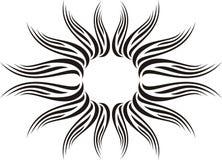 Abstracte kalligrafie Stock Afbeelding