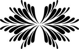 Abstracte kalligrafie Royalty-vrije Stock Afbeelding