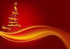 Abstracte Kerstboom vector illustratie