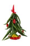 Abstracte Kerstboom Stock Afbeelding