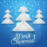 Abstracte Kerstboom Royalty-vrije Stock Fotografie