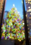 Abstracte Kerstboom Stock Afbeeldingen