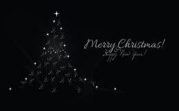 Abstracte Kerstboom Royalty-vrije Stock Foto
