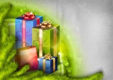Abstracte Kerstmis Stock Foto