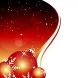 Abstracte Kerstmisachtergrond Royalty-vrije Stock Afbeelding