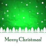 Abstracte Kerstmisachtergrond. vector illustratie