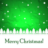 Abstracte Kerstmisachtergrond. Royalty-vrije Stock Fotografie