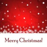 Abstracte Kerstmisachtergrond. Royalty-vrije Stock Afbeeldingen