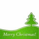 Abstracte Kerstmisachtergrond. stock illustratie