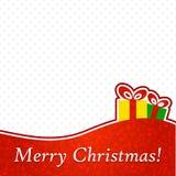 Abstracte Kerstmisachtergrond. Royalty-vrije Stock Foto