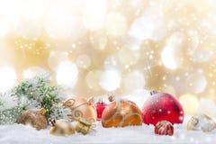 Abstracte Kerstmisachtergrond Royalty-vrije Stock Foto's
