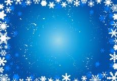 Abstracte Kerstmisachtergrond Stock Afbeelding