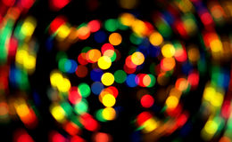 Abstracte Kerstmisachtergrond van Defocused Royalty-vrije Stock Afbeelding