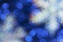 Abstracte Kerstmisachtergrond van Defocused Royalty-vrije Stock Foto's