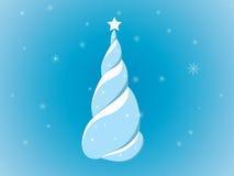 Abstracte Kerstmisboom vector illustratie