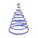 Abstracte Kerstmisboom Stock Fotografie