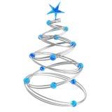 Abstracte Kerstmisboom Royalty-vrije Stock Foto