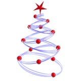 Abstracte Kerstmisboom Royalty-vrije Stock Fotografie