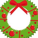 Abstracte Kerstmiskroon Royalty-vrije Stock Fotografie