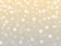 Abstracte Kerstmislichten Royalty-vrije Stock Afbeeldingen