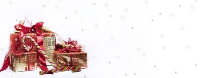 Abstracte Kerstmissamenstelling De abstractie van de winter Royalty-vrije Stock Afbeeldingen