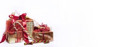 Abstracte Kerstmissamenstelling De abstractie van de winter Stock Afbeeldingen