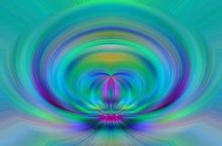 Abstracte kleur stock illustratie