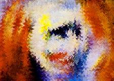 Abstracte kleur als achtergrond Royalty-vrije Stock Afbeelding