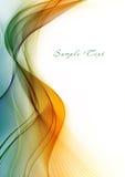Abstracte kleur wawe Stock Fotografie