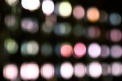 Abstracte kleuren bokeh achtergrond Royalty-vrije Stock Foto's