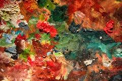 Abstracte kleurenachtergrond Stock Afbeelding