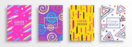 Abstracte kleurenachtergrond die voor creatief ontwerp wordt geplaatst vector illustratie