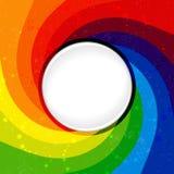 Abstracte kleurenachtergrond met draaikolk Stock Foto's