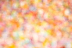Abstracte kleurenachtergrond Pastelkleurtoon met bokeh en ligh stock foto