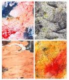 Abstracte Kleurenachtergronden Stock Fotografie