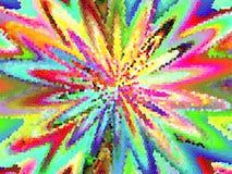 Abstracte kleurende achtergrond vector illustratie