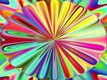Abstracte kleurende achtergrond stock illustratie
