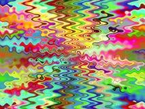 Abstracte kleurende achtergrond royalty-vrije illustratie