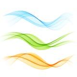 Abstracte kleurengolf