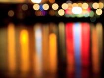 Abstracte kleurenlichten stock afbeeldingen