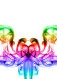 Abstracte kleurenrook Stock Afbeeldingen